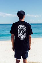 Load image into Gallery viewer, Surf Skull - Black - Tee