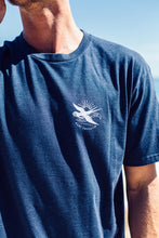 Load image into Gallery viewer, Swallow - Navy Marle - Tee