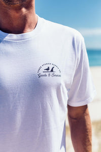 Goods & Services - White - Tee