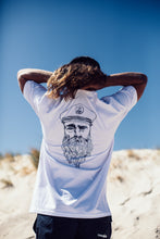 Load image into Gallery viewer, The Captain - white tee