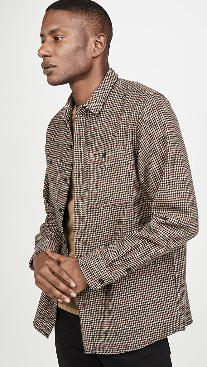 Some Days Houndstooth LS Shirt