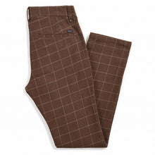 Load image into Gallery viewer, Brixton - Reserve Chino Pant Brown Plaid