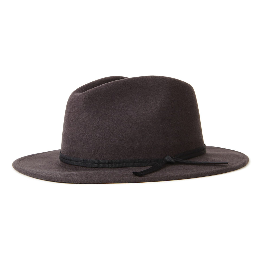 Coleman Fedora Washed Black
