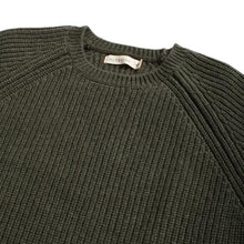 Load image into Gallery viewer, McTavish - Fisherman's Knit Crew Washed Tobacco