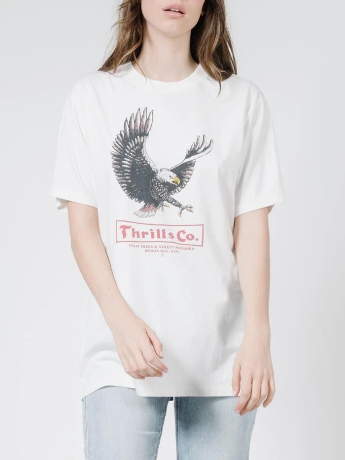 Thrills - Traction Merch Tee Dirty White