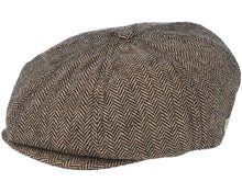 Load image into Gallery viewer, Brixton - Brood Snap Cap Brown/Khaki