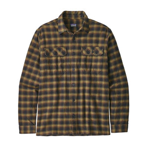 Patagonia - Long Sleeve Fjord Flannel Shirt Ink Check
