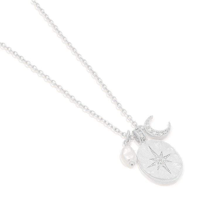 By Charlotte - Dream Weaver Necklace Silver