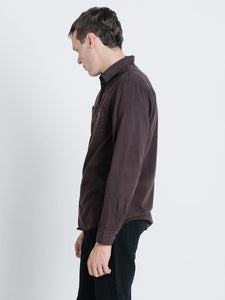 Thrills - Pocket Canyon L/S Postal Brown