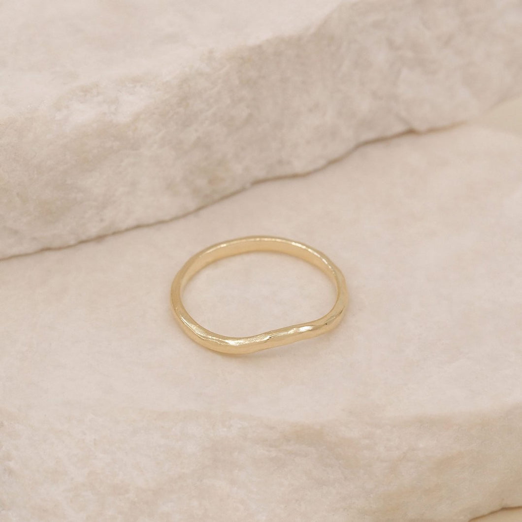 By Charlotte - Harmony Ring - Gold