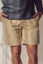 Load image into Gallery viewer, McTavish - Washed Twill Walkshorts Oat