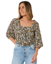 Load image into Gallery viewer, Rollas - Roxanne Meadow Floral Blouse