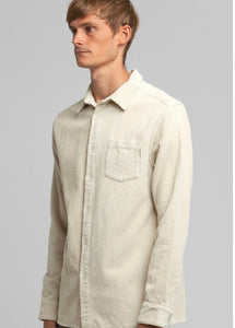 Rhythm - Corduroy LS Shirt - Cream