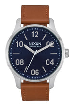 Load image into Gallery viewer, Nixon - Patrol Leather : Navy/Saddle