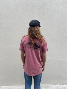 Albatross - Faded Wine - Tee