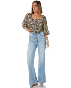 Rollas - Roxanne Meadow Floral Blouse