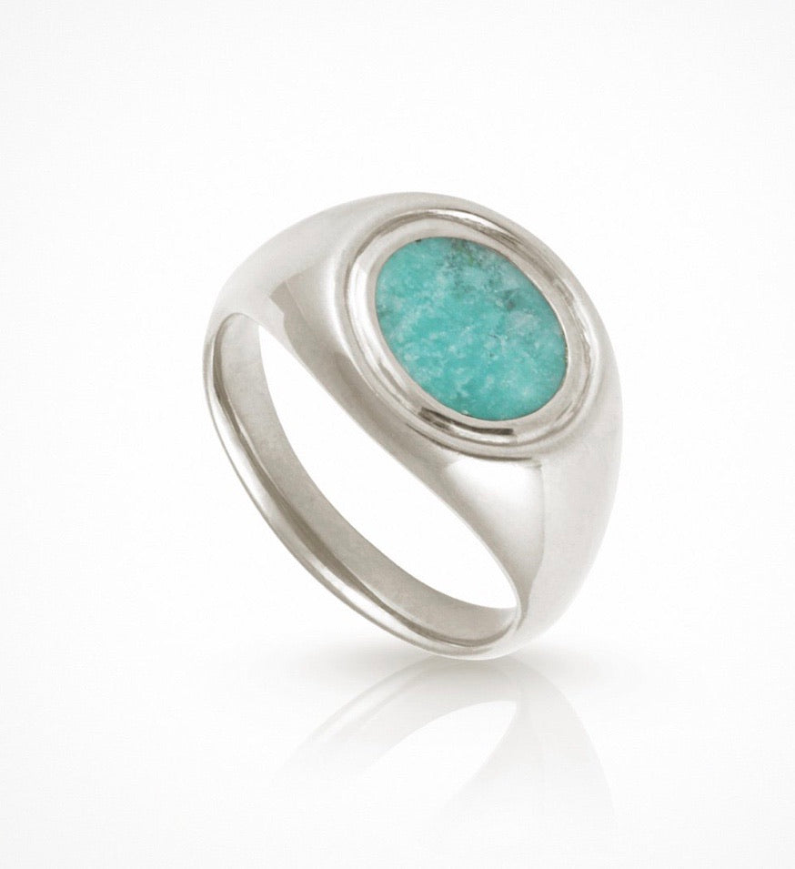 Kosmos - Ring Amazonite Silver