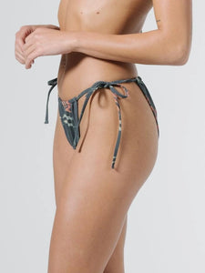 Thrills - Tropical Solitude String Bikini Pant - Black