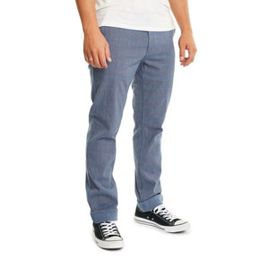 Brixton - Reserve Chino Pant Light Blue Plaid