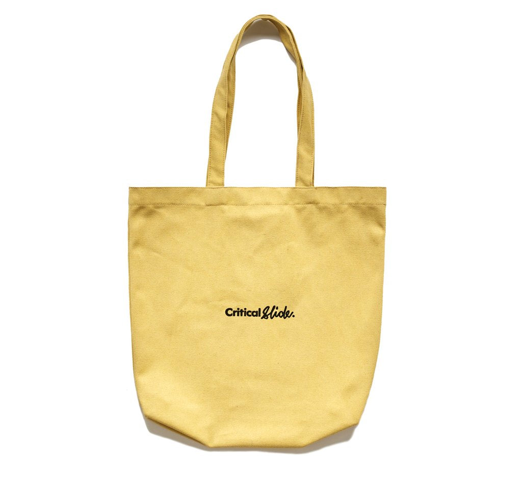 Critical Slide - Institute Tote - Sunshine