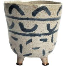 Urban Products - Iso Planter with Navy & Beige