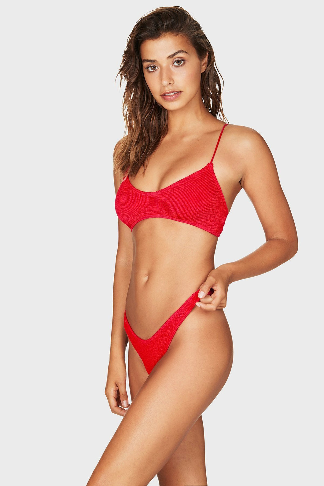 Bound Swimwear - The Selena Bikini Top - Baywatch Red
