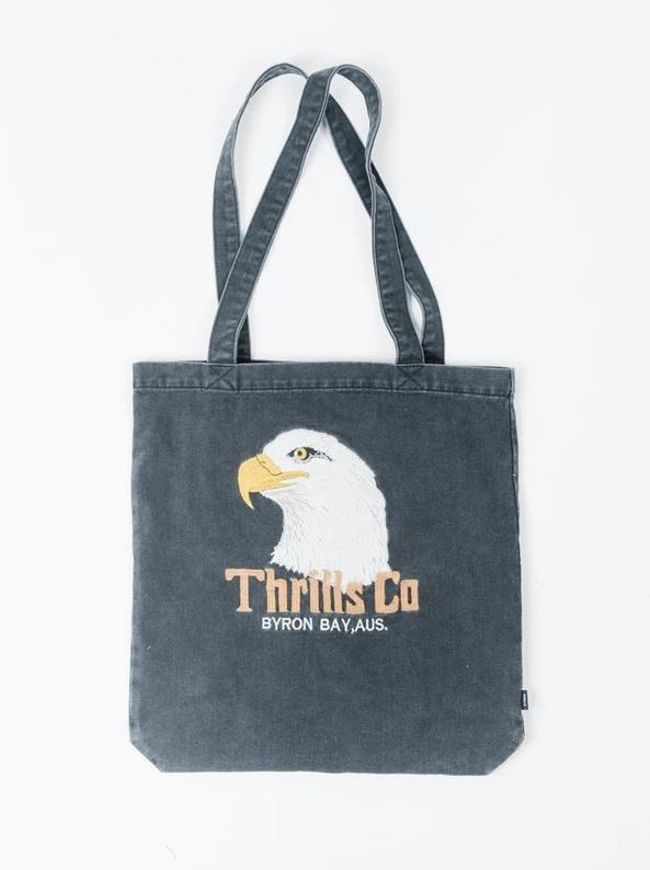 Thrills - Thrills Reliance Denim Tote Fade Black