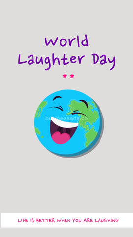 World Laughter Day Social Video