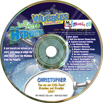 The Wubbles Adventure - MyMusicCD.com