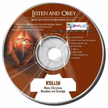 Listen & Obey Bible Stories - MyMusicCD.com