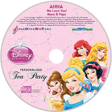 Personalized Disney Princess CD - MyMusicCD.com