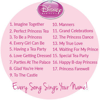 Personalized Disney Princess Cd Free Shipping Mymusiccd Com
