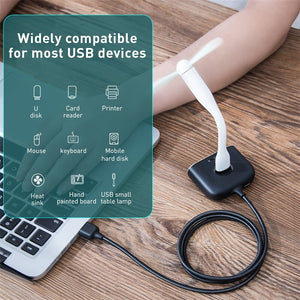 Baseus 4 in 1 USB HUB to USB 3.0 for MacBook Pro/Air USB Splitter 4 Ports Type C HUB forhuawei Matebook Computer Accessories