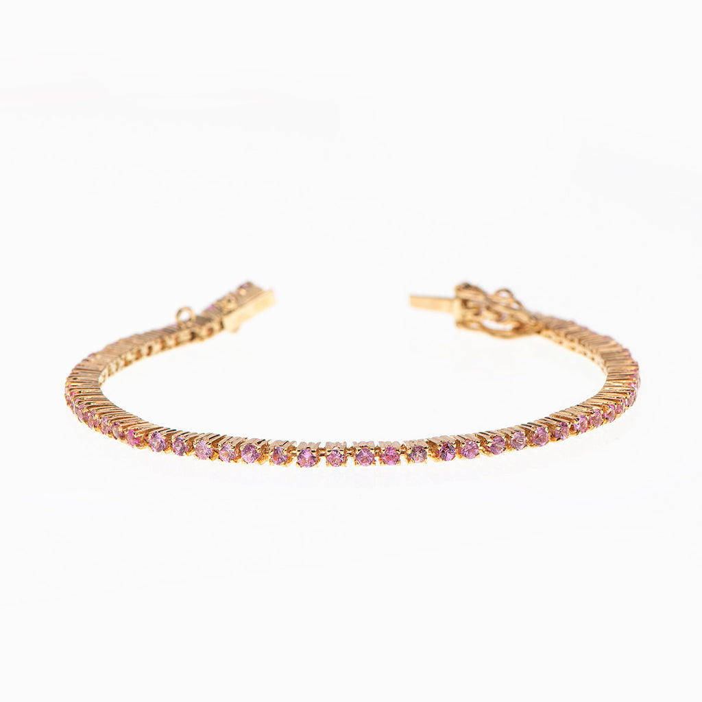 Colored stone Tennis Bracelet - Politia Jewelry