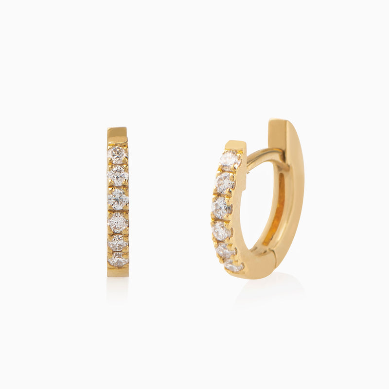 Mini Trio Diamond Studs