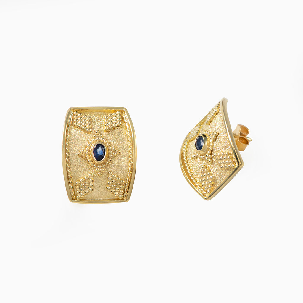 The ''Princess'' Byzantine Earrings