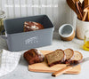 Bread Metal Box