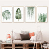 Plant Leaves Canvas