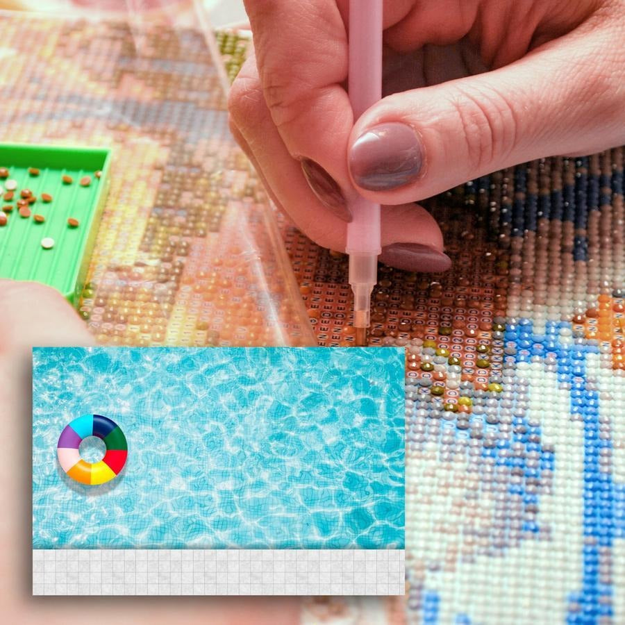 Diamond Painting - Swimming Pool
