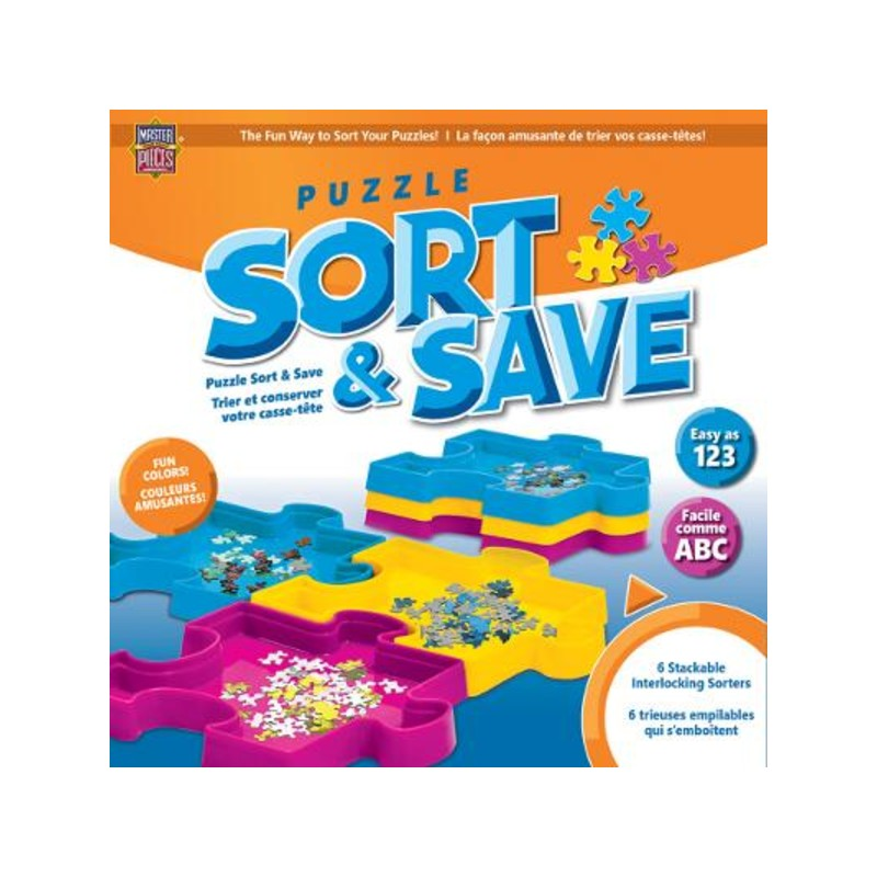 Porta rompecabezas Sort & Save