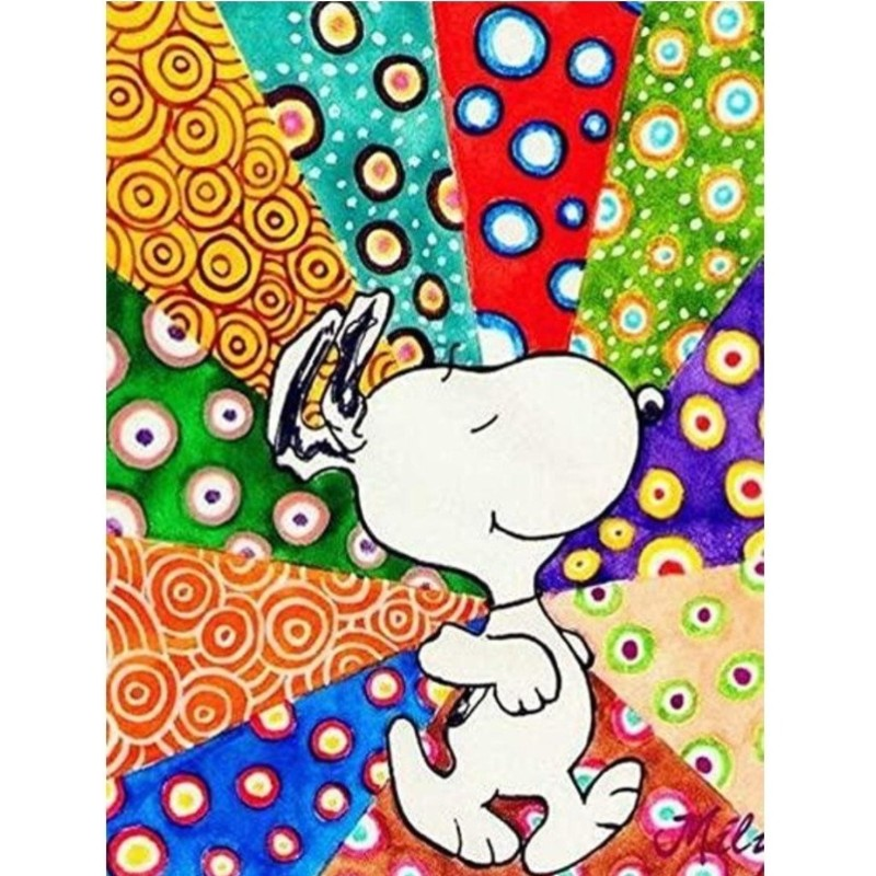 Snoopy Paint By Numbers