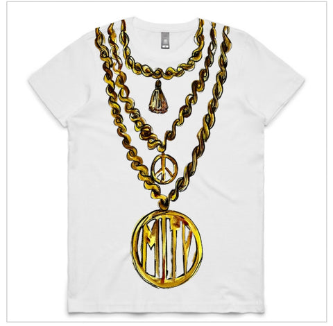 Chain Necklace Tshirt