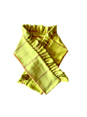 Ruffle Scarf: Yellow