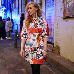 GRAFFITI DRESS/TOP