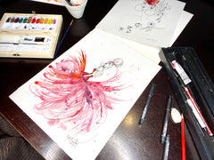 Art Therapy: Fashion Illustration Kit