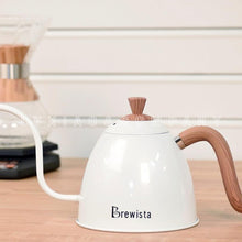 Load image into Gallery viewer, Brewista Coffee Drip Kettles Stovetop Gooseneck Kettle Stainless Steel Coffee Pots Easy Grip Handle 700ml