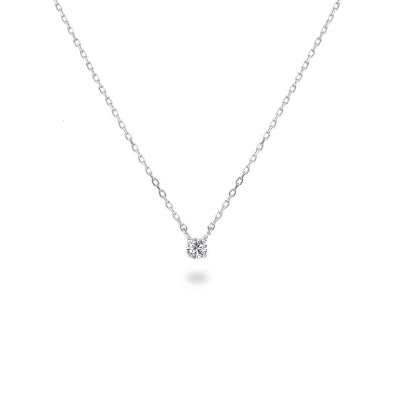 0.05ct Solitaire Diamond Necklace