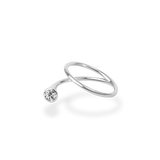 0.2ct Peek Diamond Ring