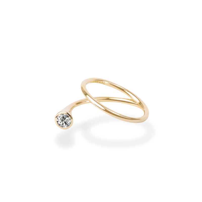 0.2ct Peek Diamond Ring - PRMAL