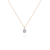 0.3ct Pear Diamond Necklace [feat. Diamond Foundry] - PRMAL